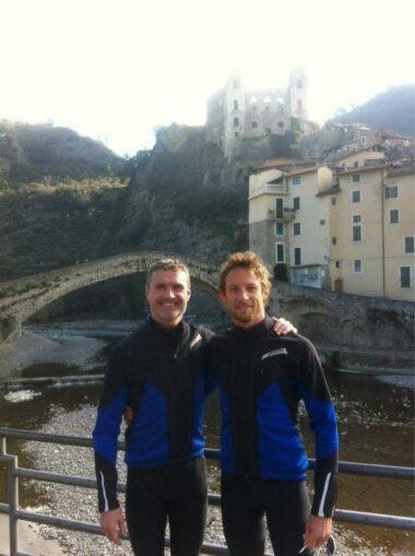 David Coulthard e Jenson Button