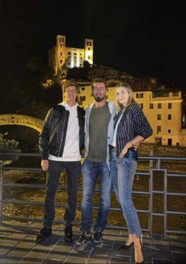Jannik Sinner, Marat Safin, Maria Sharapova