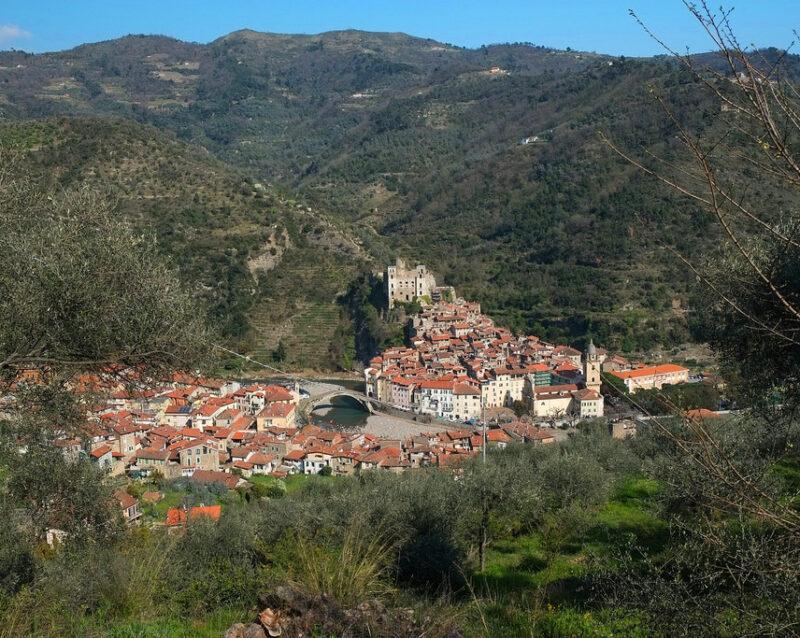 Panorama dalla chiesa di San Bernardo