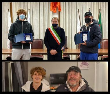 Jannik Sinner e Riccardo Piatti